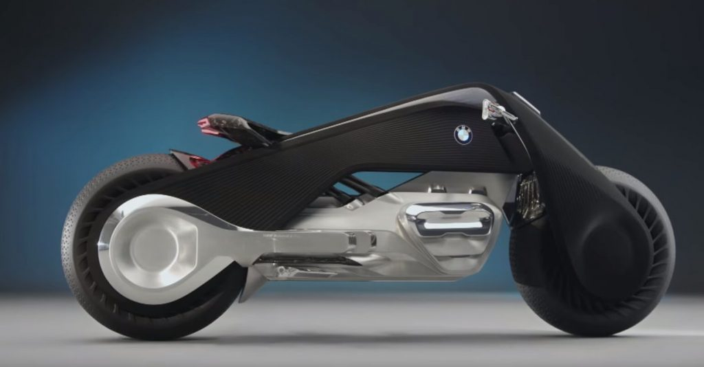 BMW Introduces The Future Of Motorcyles - The BMW Motorrad VISION NEXT 100