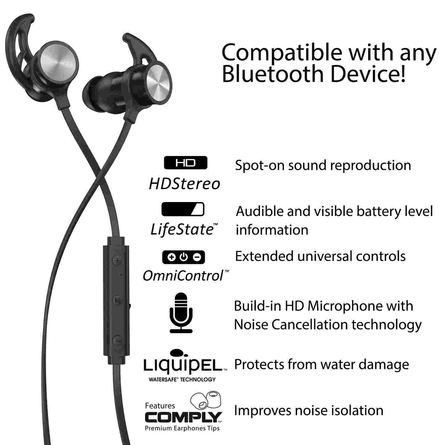 Phaiser BHS-730 Bluetooth Earbuds Review