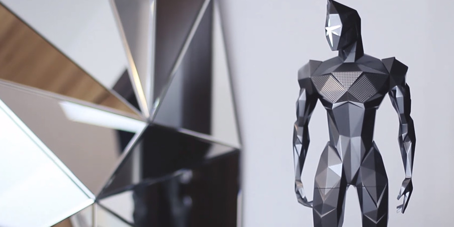 Kalium Sound Heroes - Humanoid Bluetooth Speaker You Should See