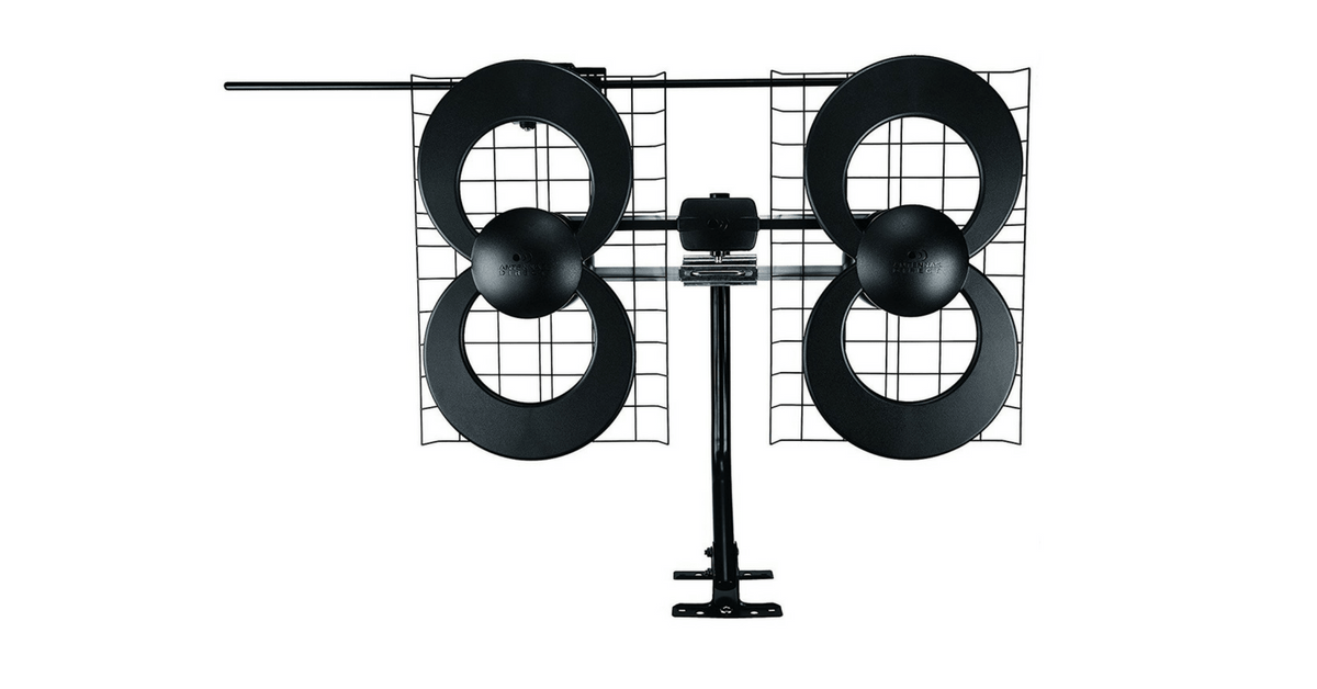 ClearStream 4 Indoor/Outdoor HDTV Antenna with Mount
