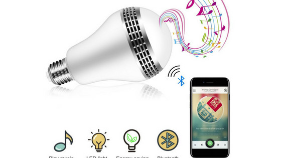ICOCO Bluetooth Smart Speaker Light