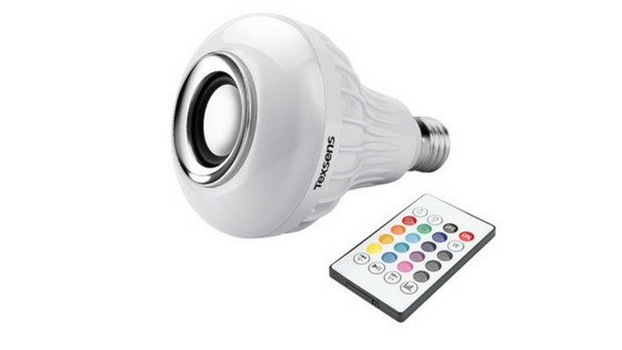 Texsens Smart Light Bulb Speaker