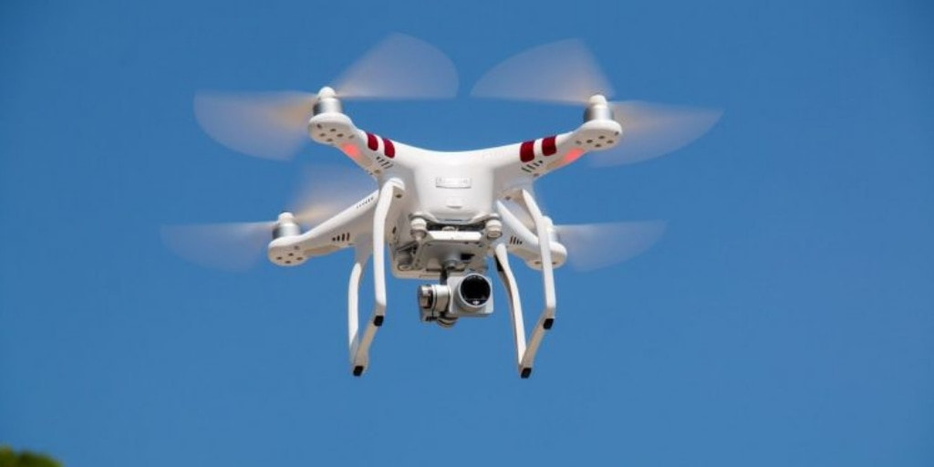 Stabilize your aerial videos with drone gimbal