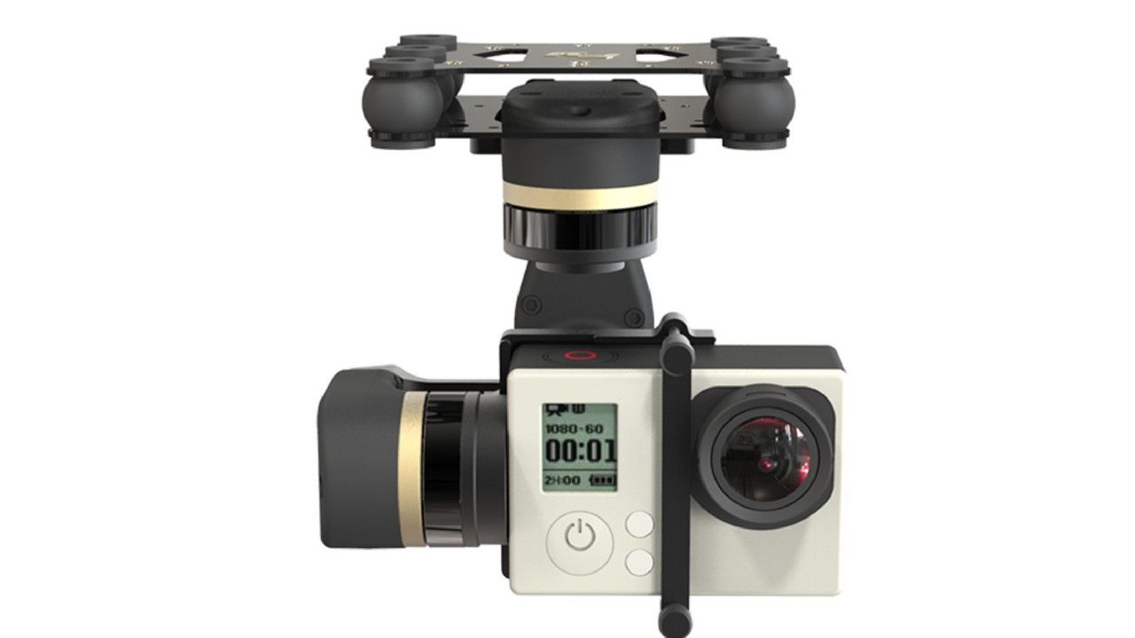 Feiyu Tech Mini 3D Full Metal 3 Axis Brushless Gimbal