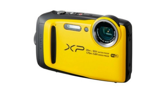 Fujifilm FinePix XP120 compact camera