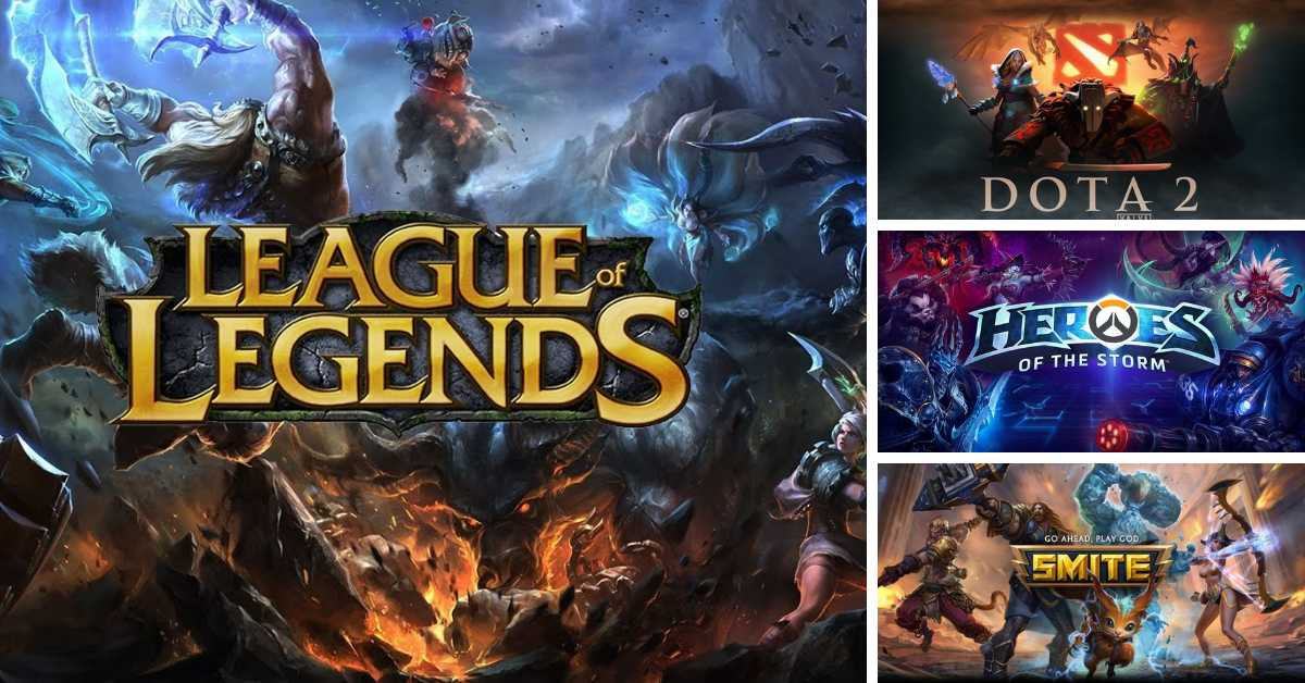 MOST POPULAR MOBA GAMES