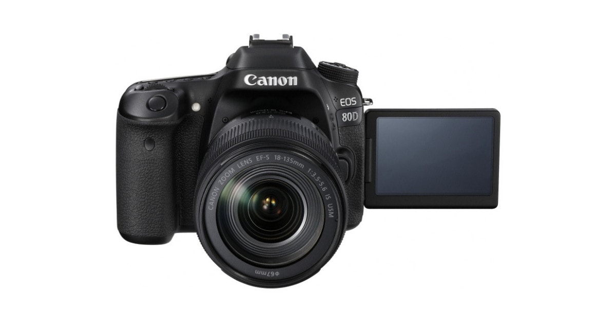 Canon EOS 80D - Best DSLR with Flip Screen