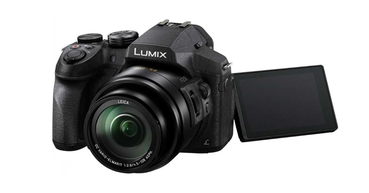 Panasonic Lumix FZ300 - Cheap Camera With Flip Screen