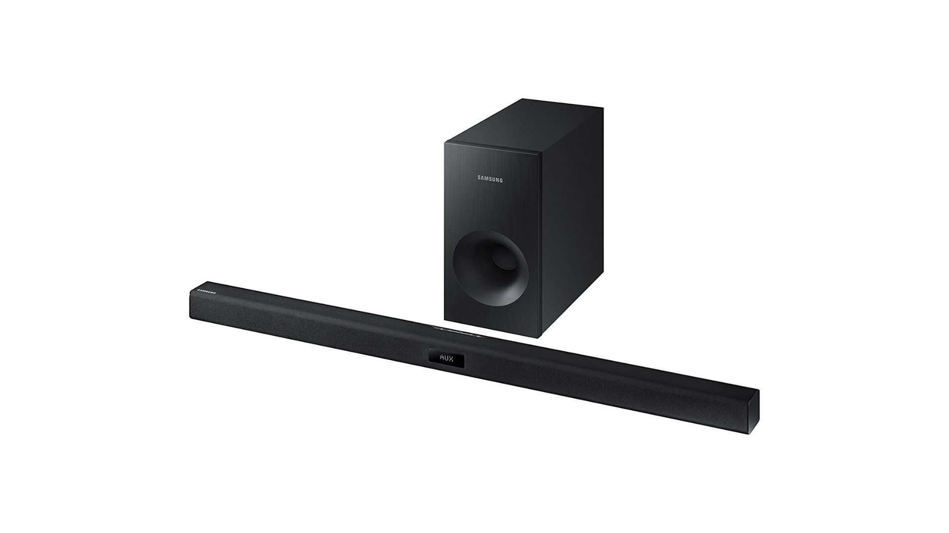Best Soundbar Under 200 - Samsung HW-J355 2.1 Audio Soundbar