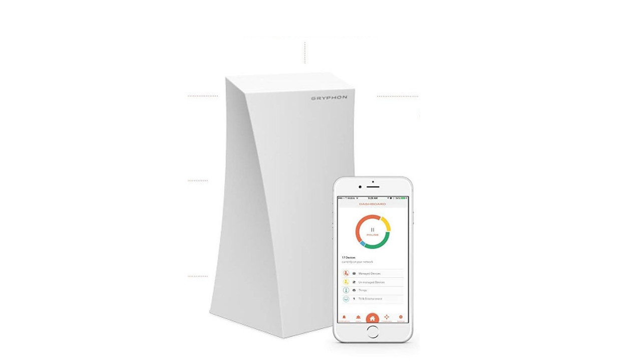 GRYPHON – Mesh WiFi Security Control Router