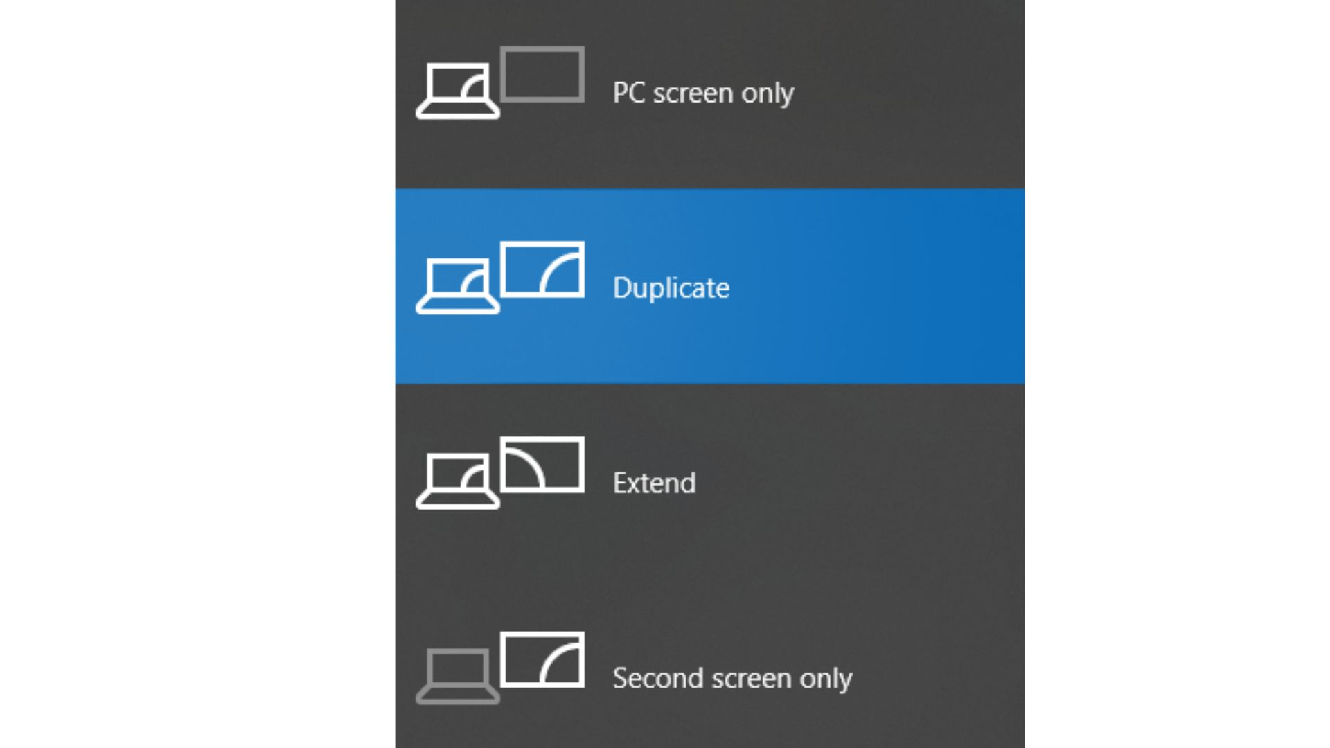 Laptop or PC Connection Settings
