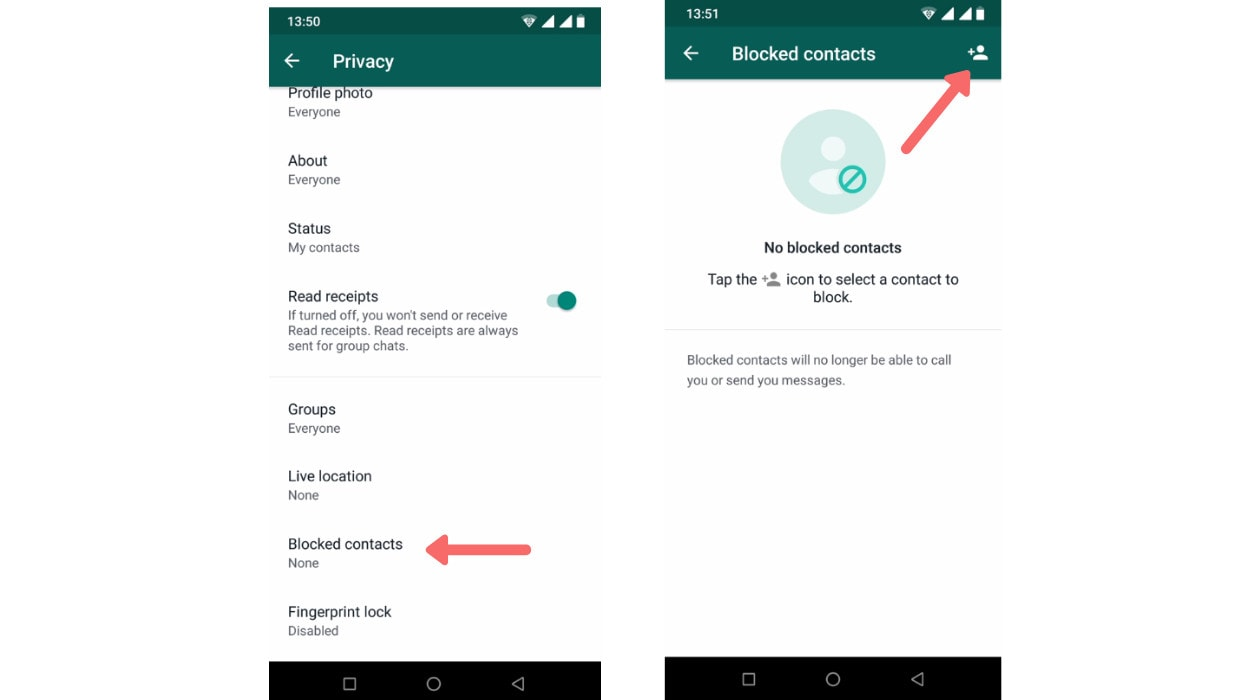 Here is how to block someone on WhatsApp