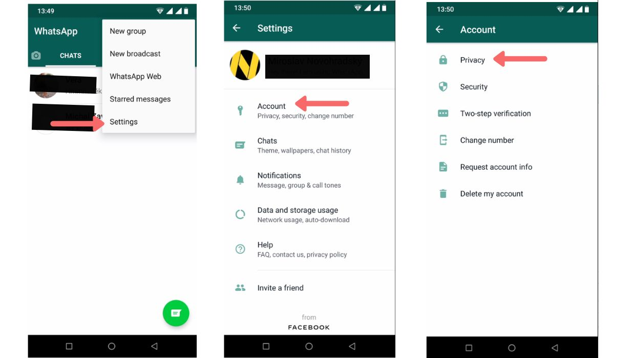 How To Block Contact On WhatsApp