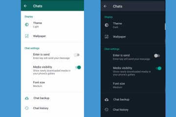 How To Enable Dark Mode On WhatsApp on Android, and iOS