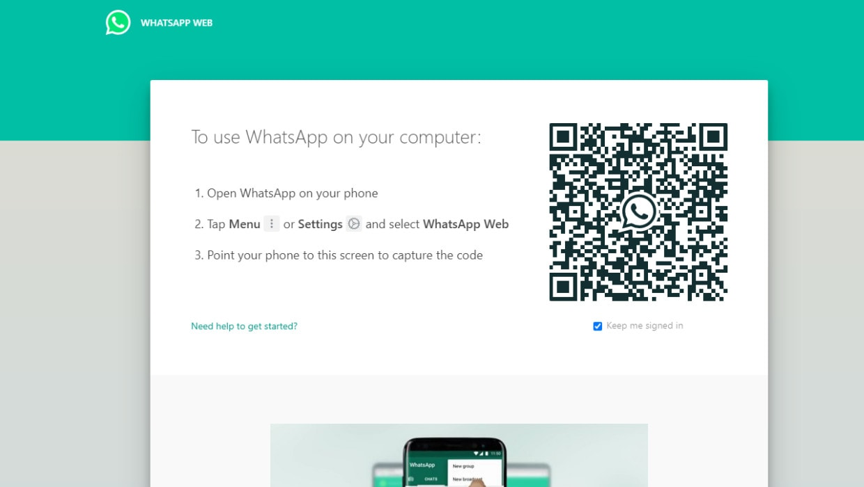enable dark mode on whatsapp web