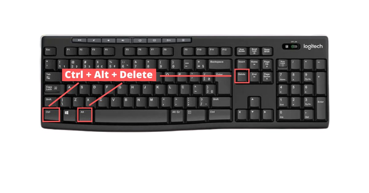 Use Ctrl +Alt + Delete Keys To Lock PC