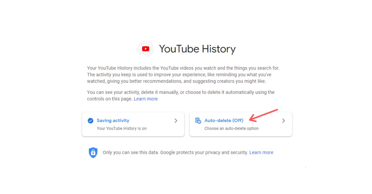 How To Automatically Delete Your YouTube History