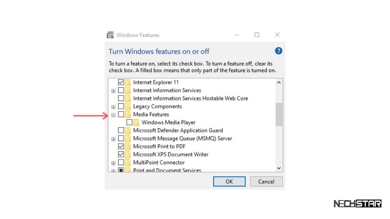 How to Disable or Uninstall Windows Media Player from Windows 10